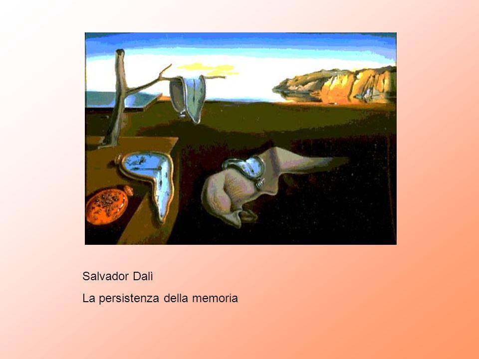 Salvador Dalì La persistenza della memoria