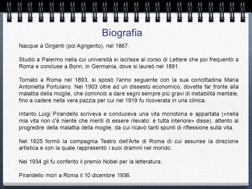 Nacque a Girgenti (poi Agrigento), nel 1867. Studiò a Palermo nella cui università si iscrisse al corso di Lettere che poi frequentò a Roma e concluse