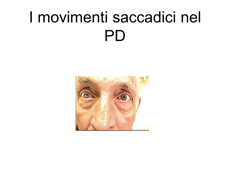 I movimenti saccadici nel PD
