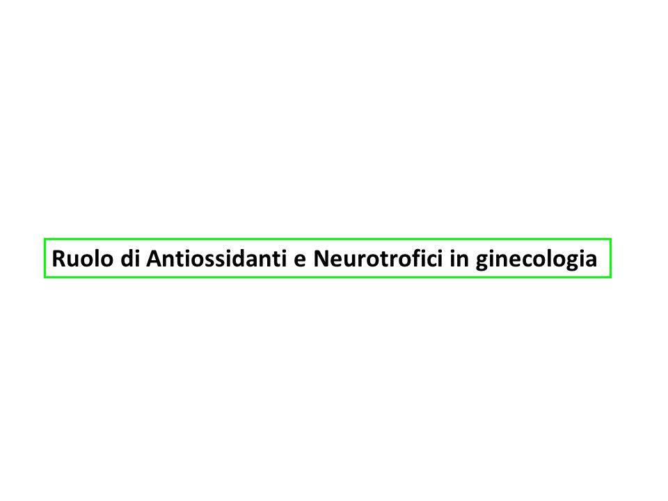 Ruolo di Antiossidanti e Neurotrofici in ginecologia