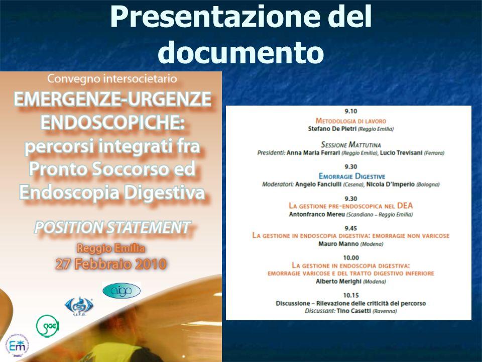 Presentazione del documento