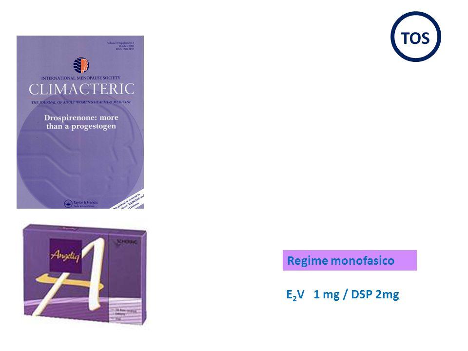 E 2 V 1 mg / DSP 2mg Regime monofasico TOS