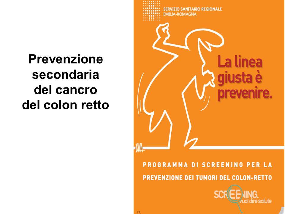 Prevenzione secondaria del cancro del colon retto