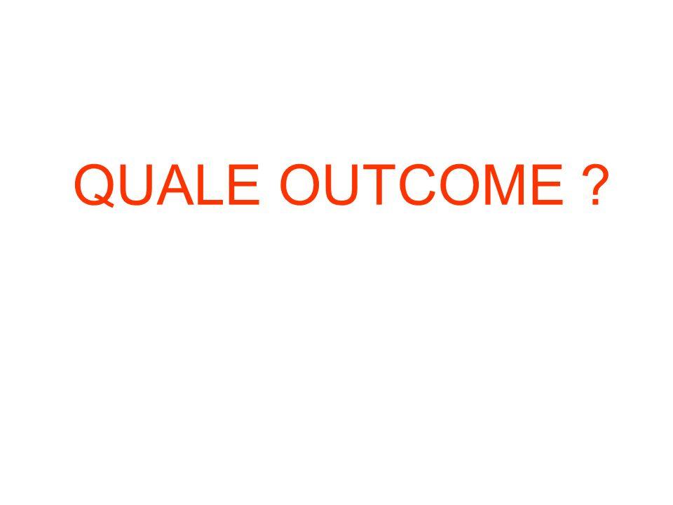 QUALE OUTCOME