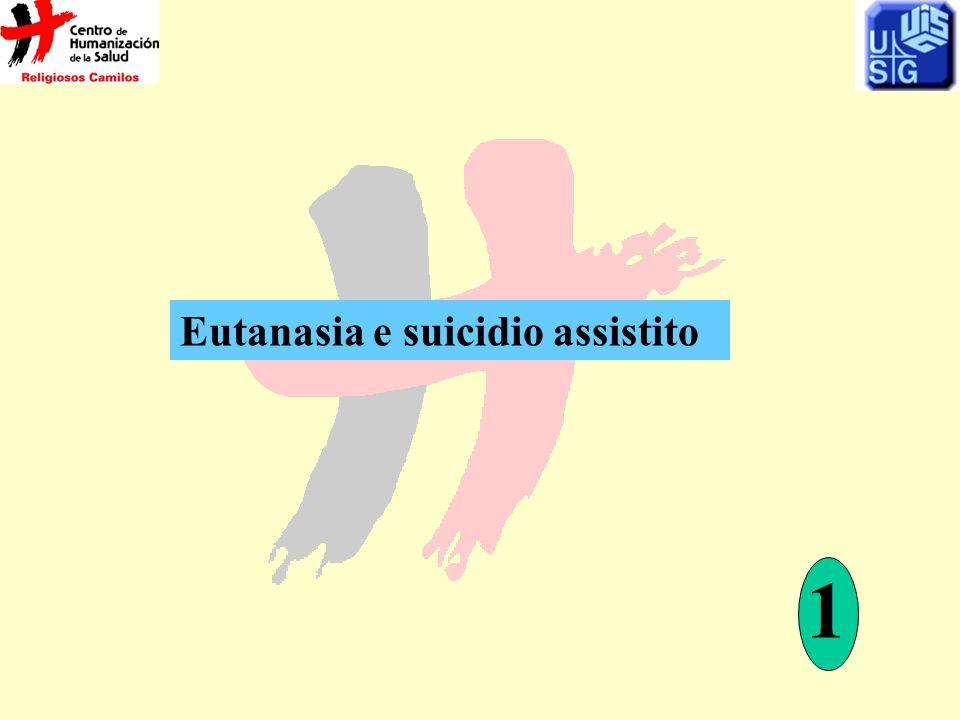 Eutanasia e suicidio assistito 1
