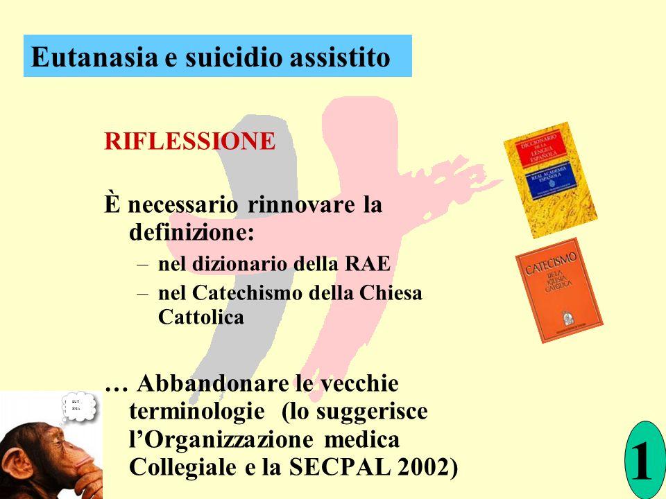 È necessario rinnovare la definizione: –nel dizionario della RAE –nel Catechismo della Chiesa Cattolica … Abbandonare le vecchie terminologie (lo sugg