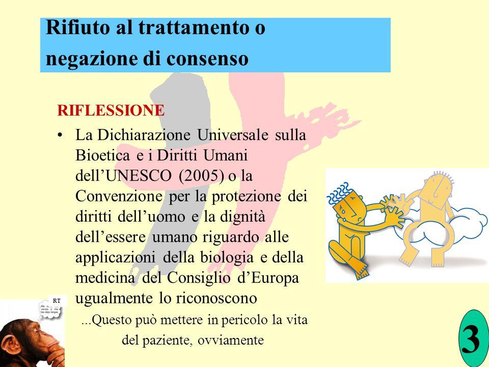 RIFLESSIONE La Dichiarazione Universale sulla Bioetica e i Diritti Umani dellUNESCO (2005) o la Convenzione per la protezione dei diritti delluomo e l