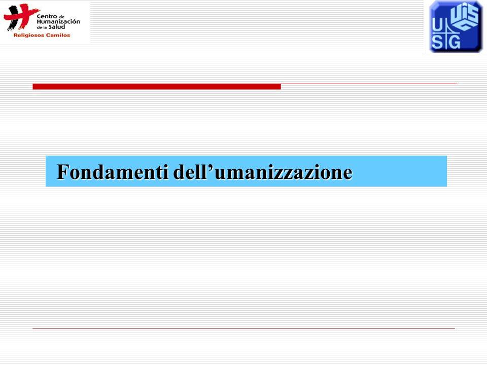Fondamenti dellumanizzazione Fondamenti dellumanizzazione