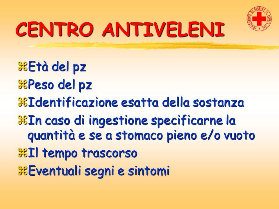TRATTAMENTO zRilevare F.V.zSe F.V. alterati, B.L.S.