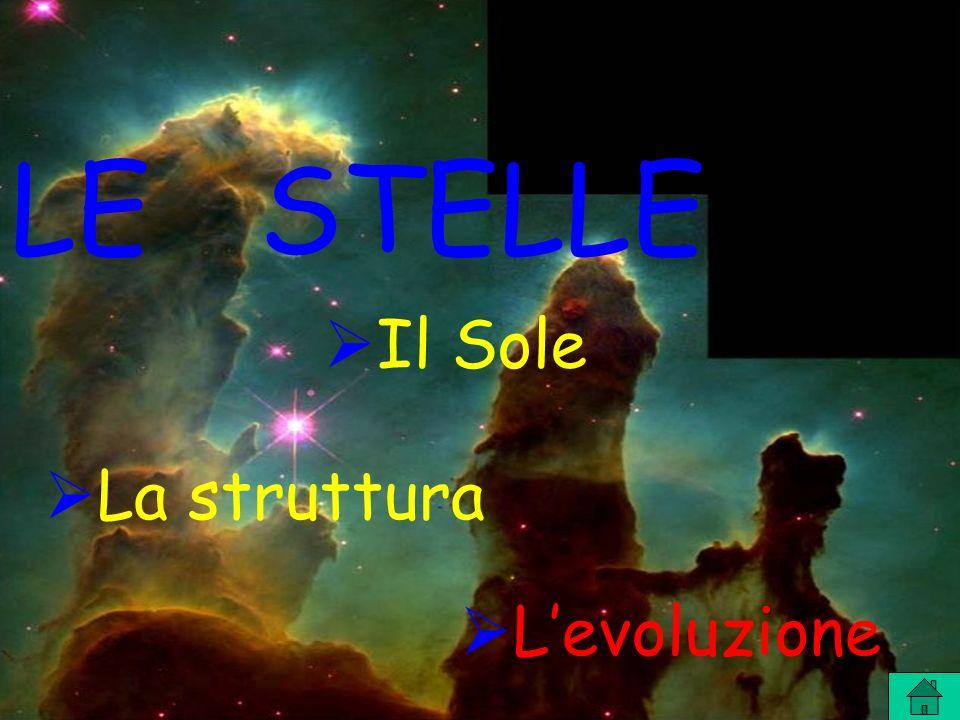 LE STELLE La struttura Levoluzione Il Sole