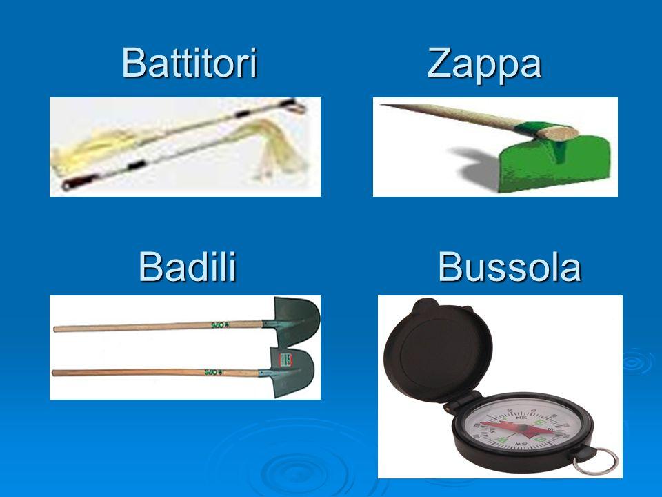 Battitori Zappa Badili BadiliBussola