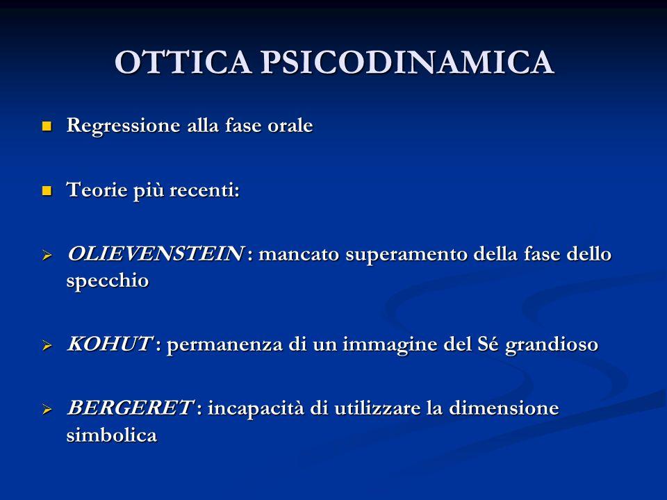 TOSSICODIPENDENZE: ELEMENTI CARATTERISTICI FALLIMENTO NEL DEFINIRE UN PROFILO DI TOSSICODIPENDENTE FALLIMENTO NEL DEFINIRE UN PROFILO DI TOSSICODIPENDENTE INDIVIDUAZIONE DI ELEMENTI PSICOPATOLOGICI CARATTERISTICI: INDIVIDUAZIONE DI ELEMENTI PSICOPATOLOGICI CARATTERISTICI: Personalità di tipo impulsivo Personalità di tipo impulsivo Sospensione funzionale del pensiero Sospensione funzionale del pensiero Alessitimia Alessitimia (Pigatto)