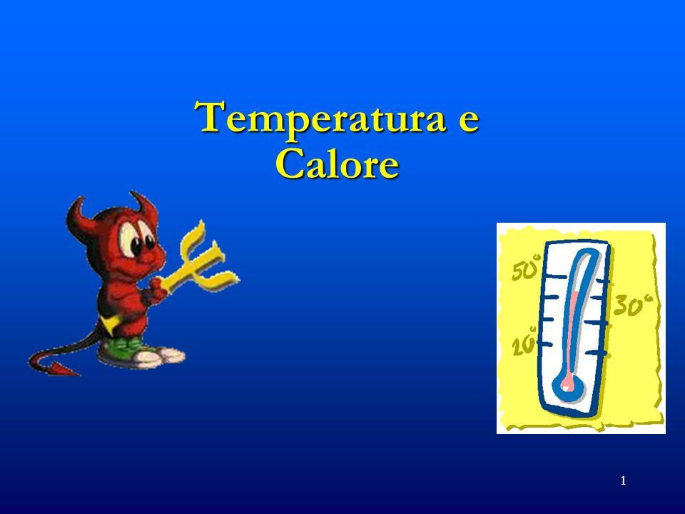 2 Cosa e la Temperatura.