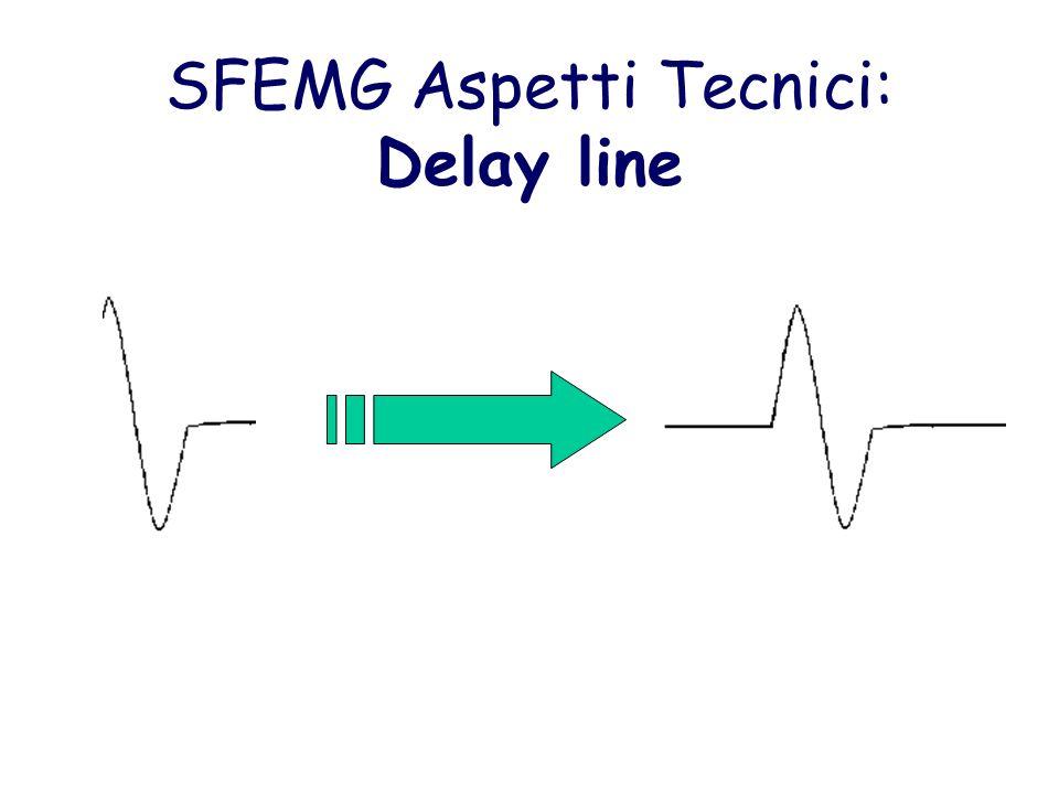 SFEMG Aspetti Tecnici: Delay line