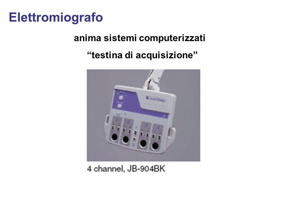 anima sistemi computerizzati testina di acquisizione Elettromiografo