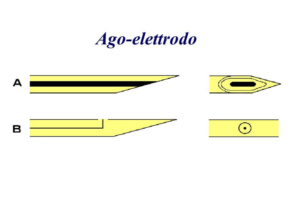 Ago da Singola Fibra (Single fibre) Recording surface diameter 25 m Recording surface area 0.0005mm 2