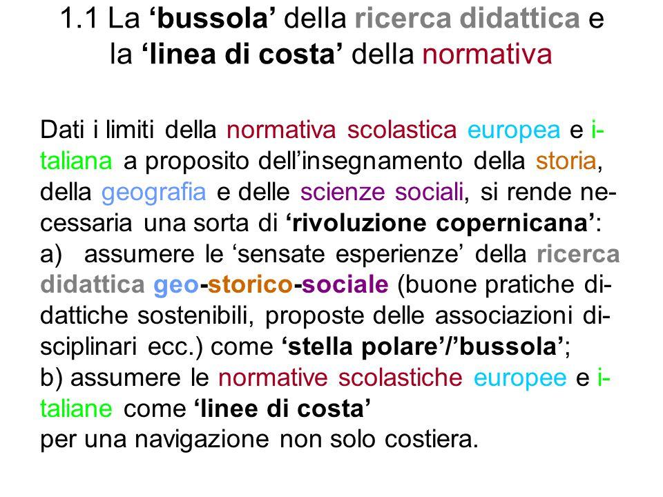 6.8 Didattica laboratoriale della storia - A.Brusa, Il laboratorio di storia, La Nuova Italia, Firenze, 1990 - A.Delmonaco, Dove si costruisce la memoria.