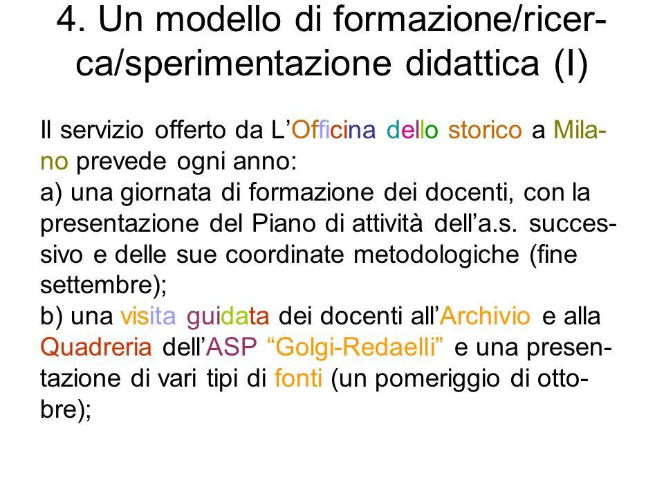 9.1 Il sito de LOfficina dello storico Il sito de LOfficina dello storico: www.officinadellostorico.it