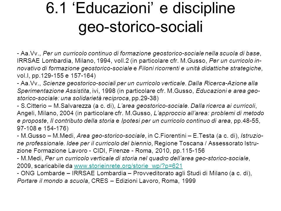 6.2 Revisione critica dei concetti di cittadinanza e di diritti umani - A.Cassese, I diritti umani nel mondo contemporaneo, Laterza, Roma- Bari, 2004 (X ed.; I ed.: ivi, 1988) - A.Cassese, I diritti umani oggi, ivi, 2010 (II ed.; I ed.: ivi, 2005) - P.Costa, Cittadinanza, ivi, 2009 (II ed.; I ed.: ivi, 2005) - M.Flores (dir.), Diritti Umani.