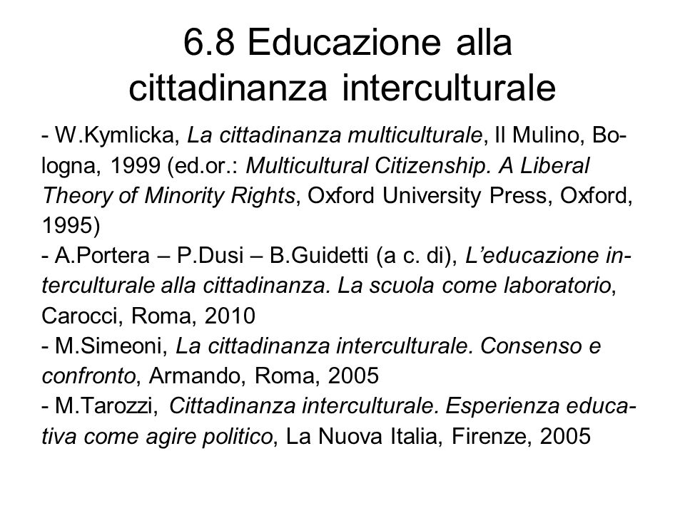 6.9 Educazione civica / alla cittadinanza e storia - A.Brusa – F.Fiore, Educazione civica e storia, in L.Luatti (a c.