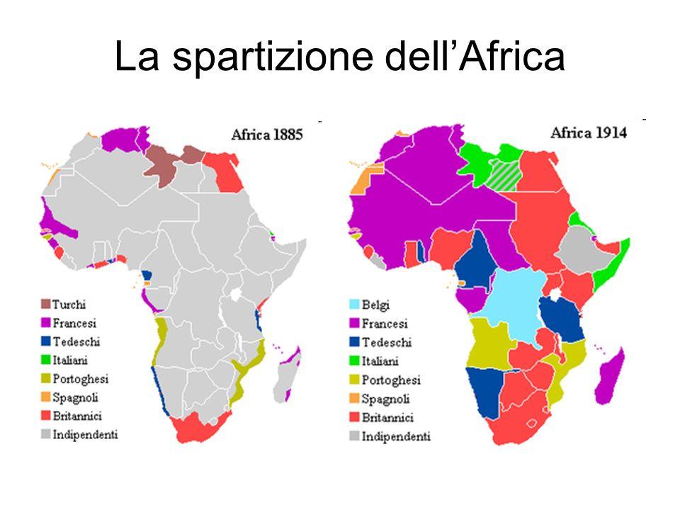 La spartizione dellAfrica