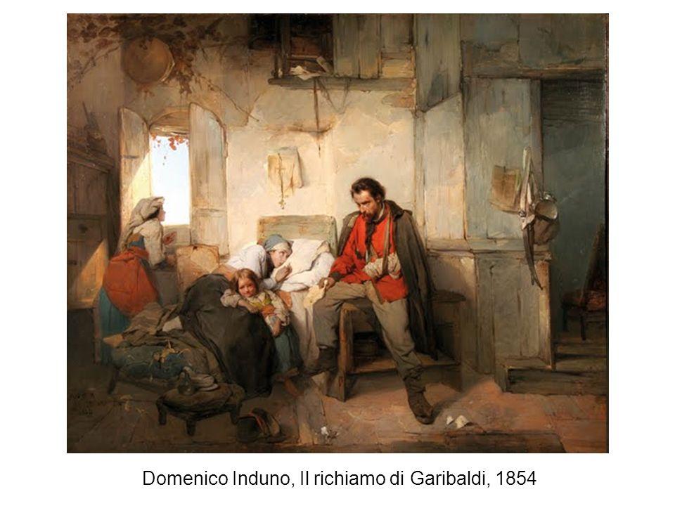 Domenico Induno, Il richiamo di Garibaldi, 1854