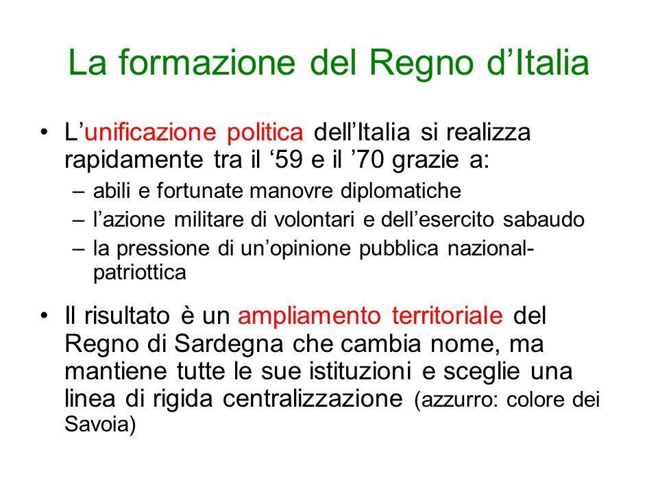 Sitografia http://www.italia150.it/ita: sito ufficiale del Comitato x il 150° dellunità dItaliahttp://www.italia150.it/ita www.150anni.it www.italia150.rai.it www.corriere.it/unita-italia-150 http://www.radio3.rai.it/dl/radio3/programmi/Publi shingBlock-14f57241-ee92-431e-a752- 2c8e7bdcdf83.html podcast della trasmissione rai Tre colori, 150 storie raccontate da letterati e storicihttp://www.radio3.rai.it/dl/radio3/programmi/Publi shingBlock-14f57241-ee92-431e-a752- 2c8e7bdcdf83.html