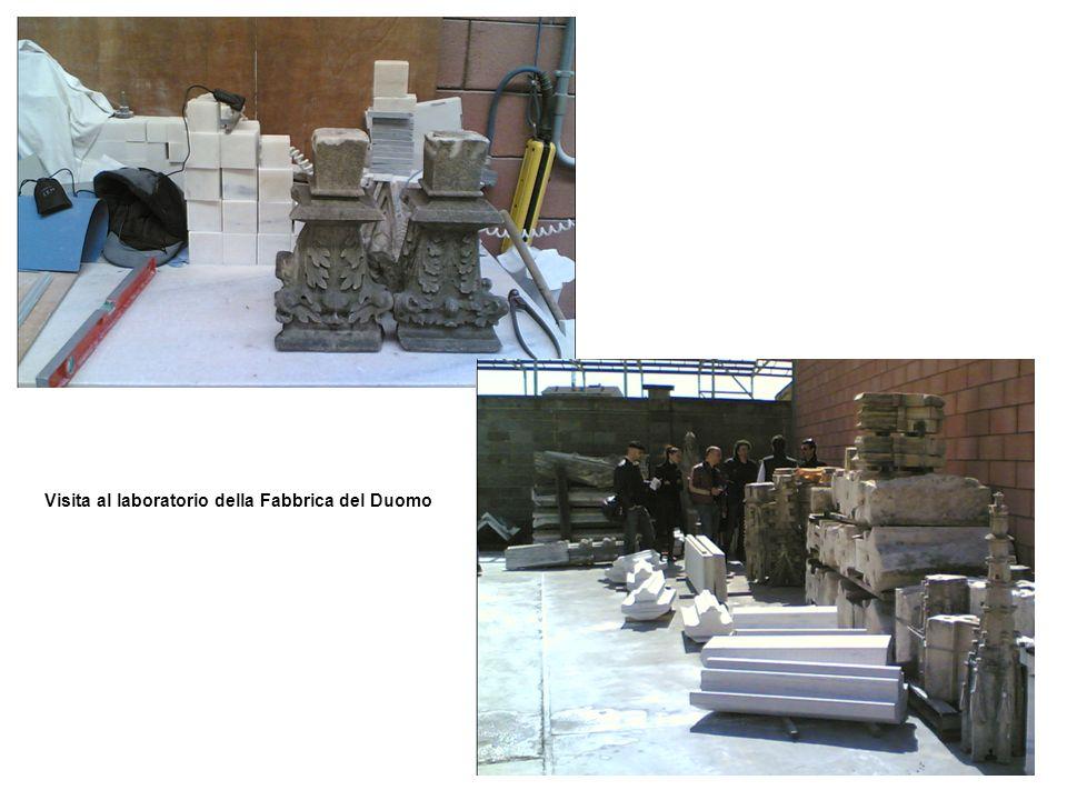 Gruppo di lavoro al museo Gruppo di lavoro allarchivio della Veneranda Fabbrica del Duomo