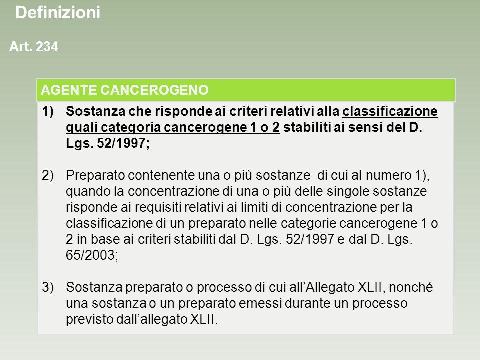Classificazione CE (direttiva 93/21/CEE) Cancerogeno di categoria 1 Sostanze note per gli effetti cancerogeni sulluomo.