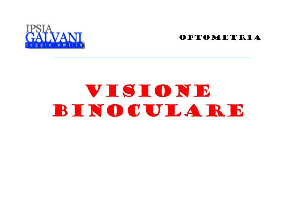 VISIONE BINOCULARE OPTOMETRIA