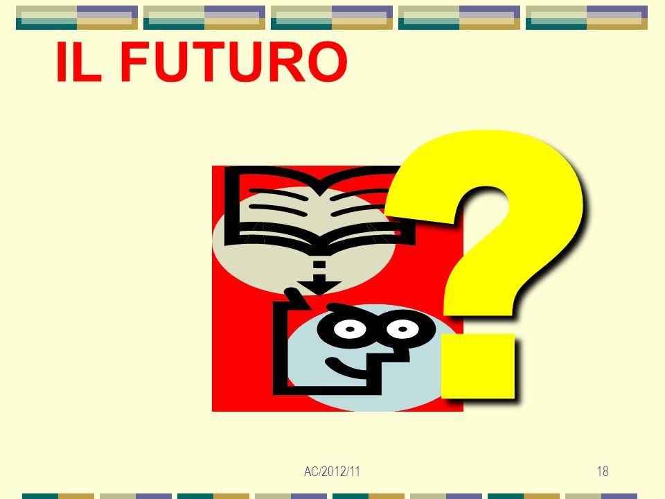 AC/2012/1118 IL FUTURO ?