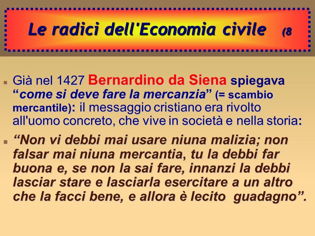 Declino dell Economia civile (9 Declino dell Economia civile (9 Dalla fine del 500: signorie e monarchie assolute.