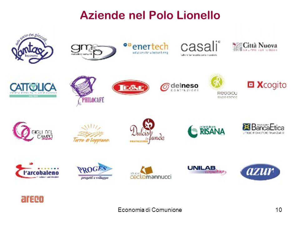 Economia di Comunione10 Aziende nel Polo Lionello
