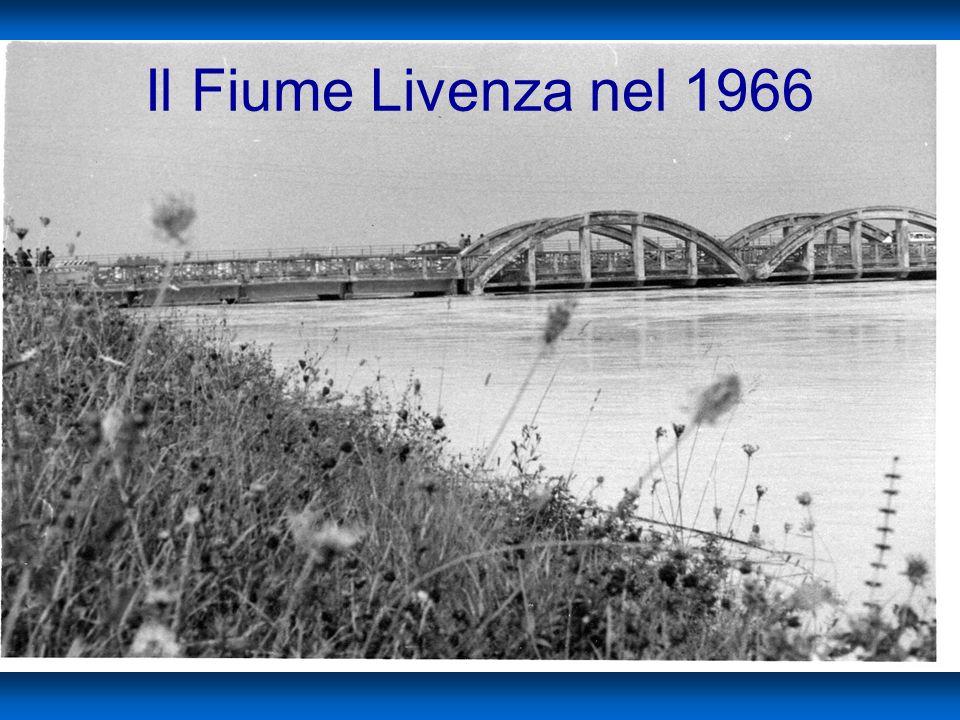 On. le Rodolfo Viola Il Fiume Livenza nel 1966