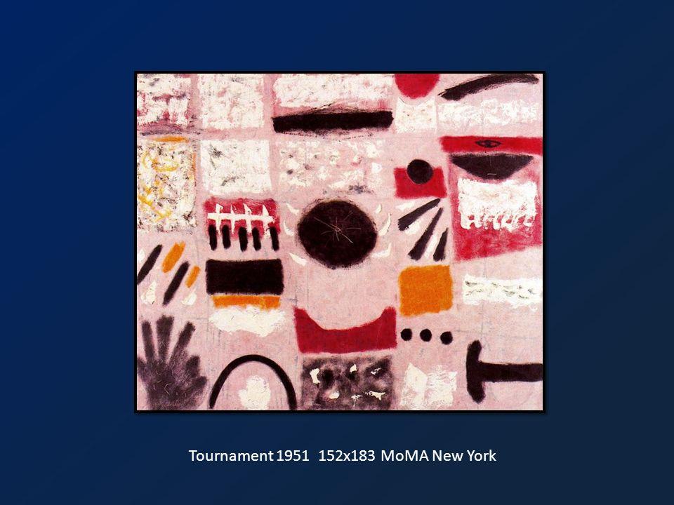 Tournament 1951 152x183 MoMA New York