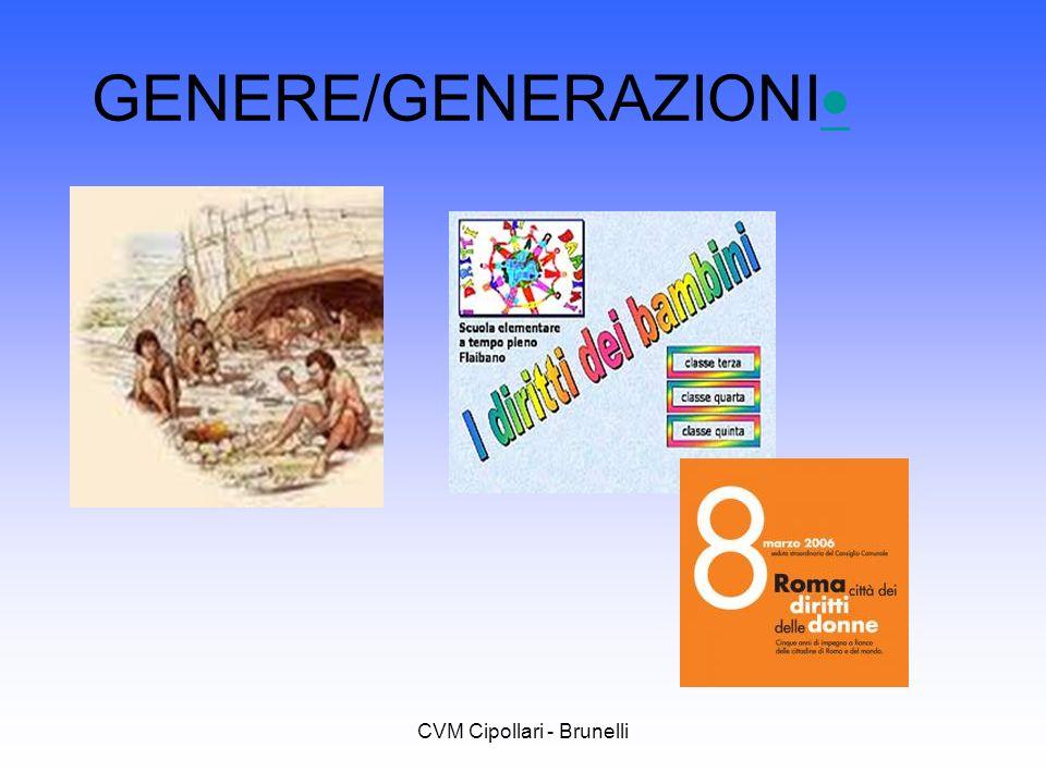 CVM Cipollari - Brunelli GENERE/GENERAZIONI