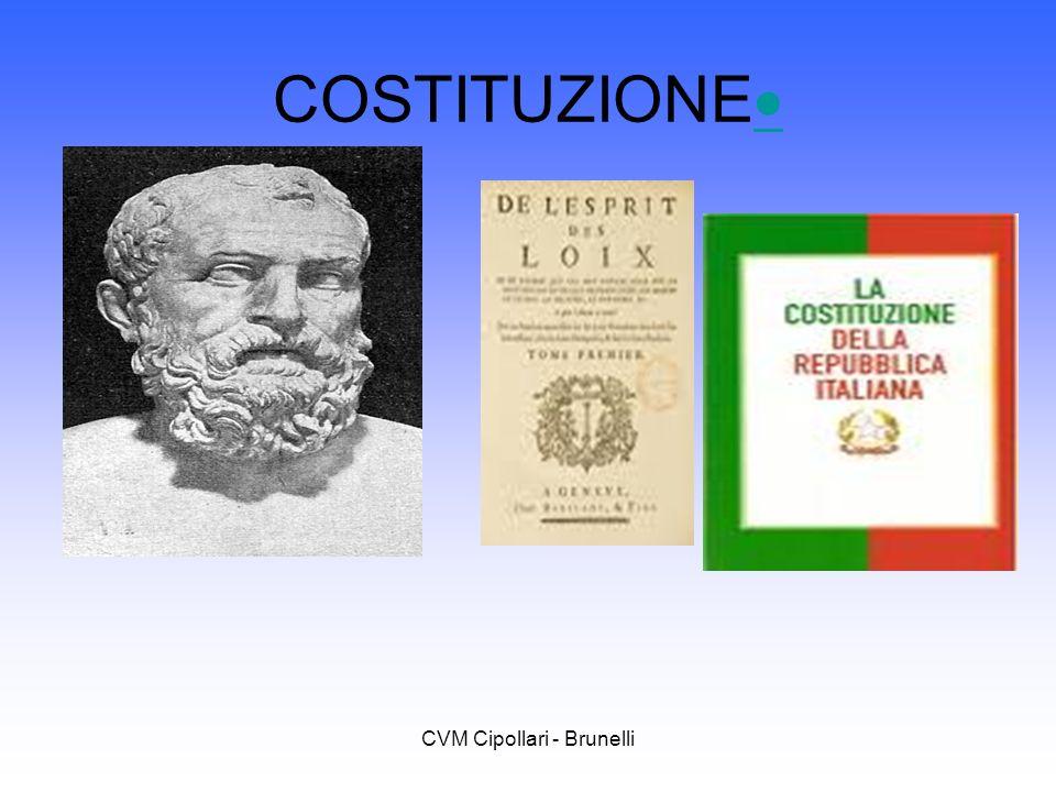 CVM Cipollari - Brunelli COSTITUZIONE