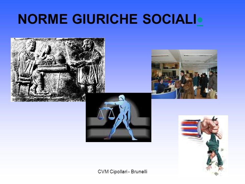 CVM Cipollari - Brunelli NORME GIURICHE SOCIALI