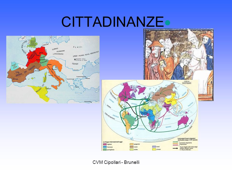 CVM Cipollari - Brunelli CITTADINANZE