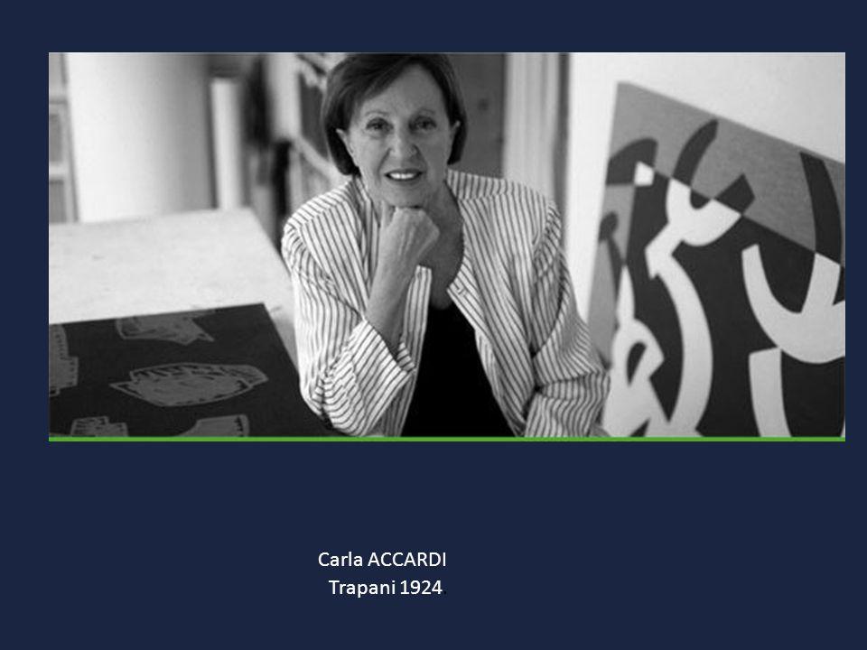 Carla ACCARDI Trapani 1924.
