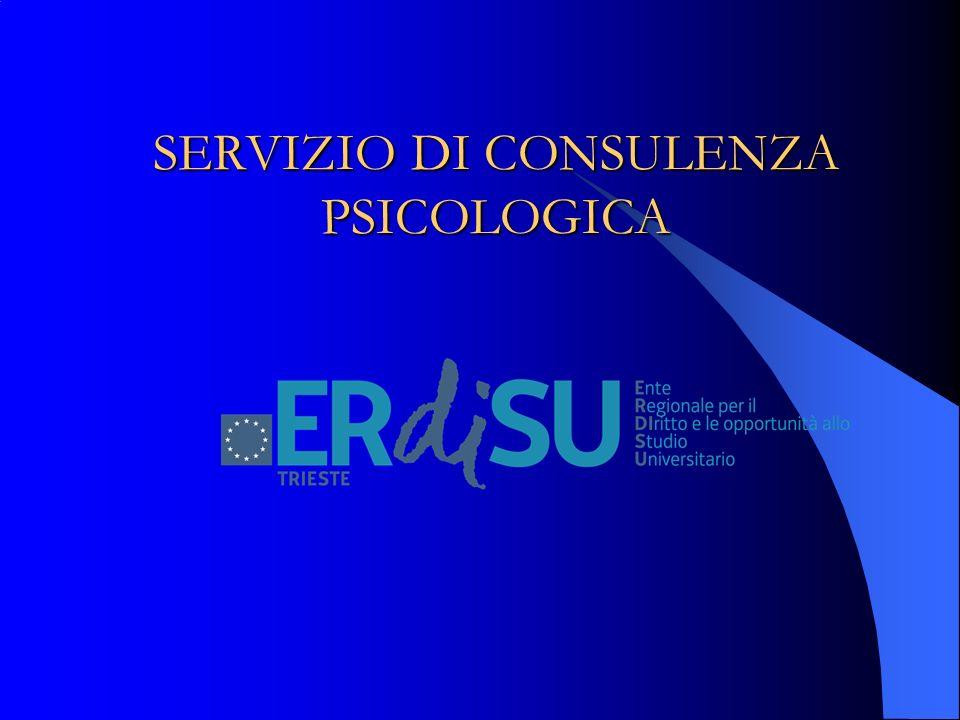 SERVIZIO DI CONSULENZA PSICOLOGICA