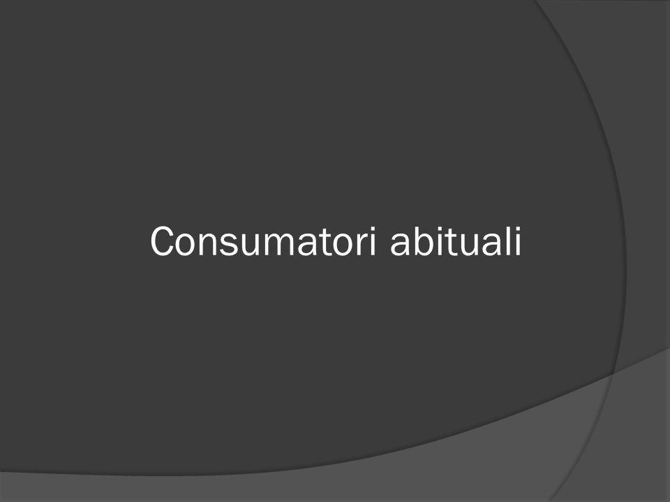Consumatori abituali