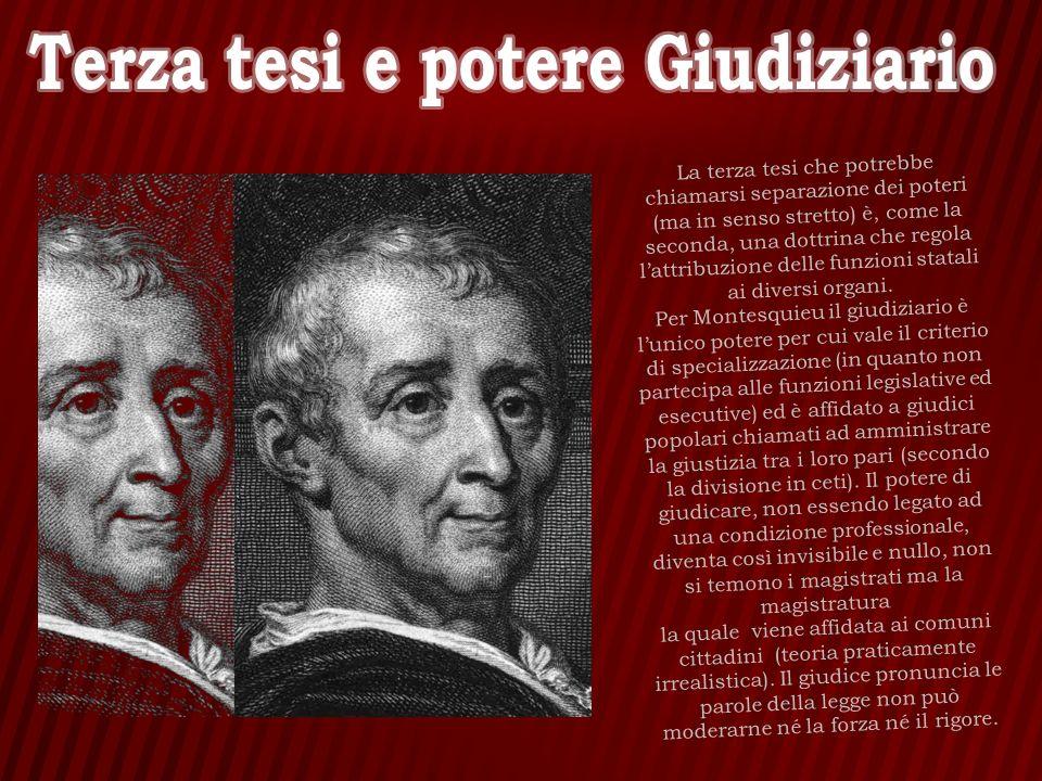 In questo modo Montesquieu conclude il suo libro: «Siccome tutte le cose umane hanno una fine, lo Stato di cui parliamo perderà la sua libertà, perirà.