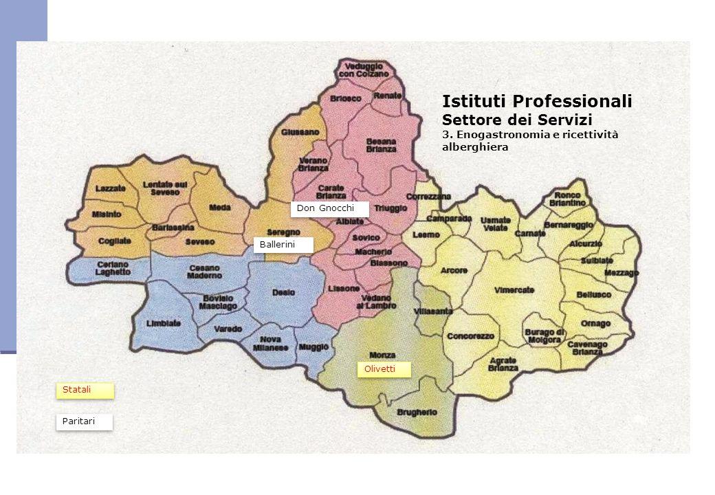 Istituti Professionali Settore dei Servizi 3.