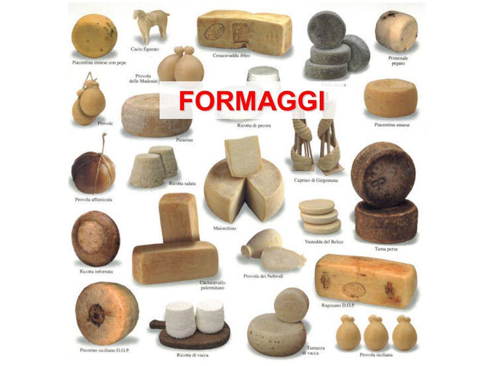 Il formaggio, o cacio, è il prodotto ottenuto dal latte intero, parzialmente scremato o scremato, o dalla crema di latte, in seguito a coagulazione acida o presamica, facendo uso di fermenti e di sale da cucina.
