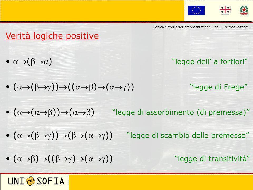 Cagliari 8 Novembre 2006 Corso di laurea in Scienze della Comunicazione Logica e teoria dell argomantazione. Cap. 2: Verità logiche. Verità logiche po