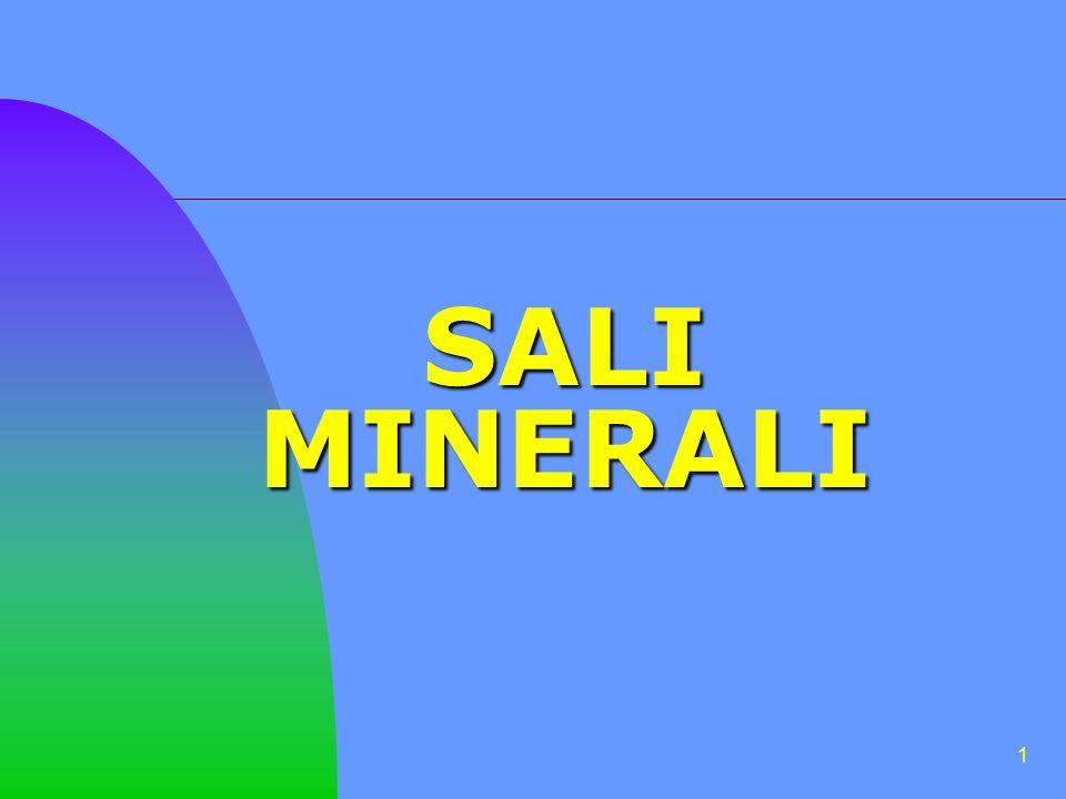 1 SALI MINERALI