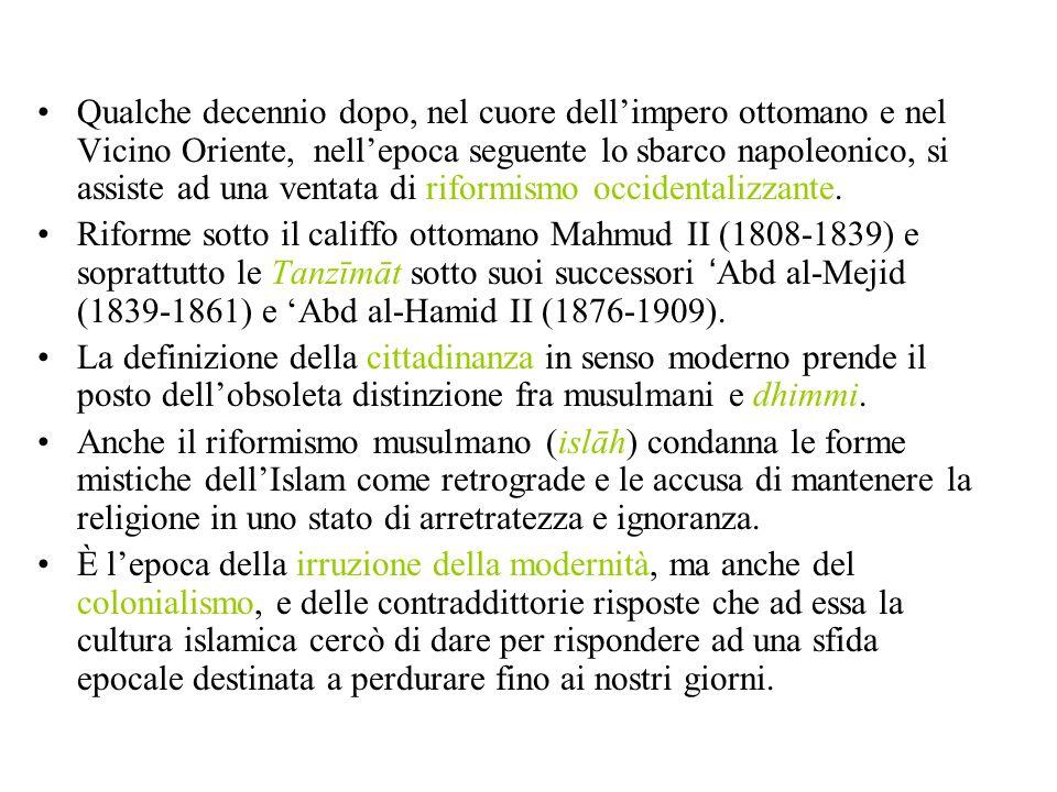 Allievo di Abduh, propugnatore dellidea del rinnovamento dellIslam attraverso il ritorno al Corano, alla sunna e alletà delloro dellIslam.