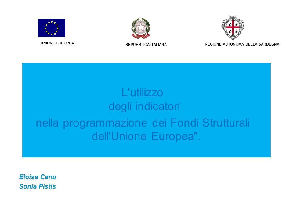 3 Indicatori di risultato nella programmazione 2014-20 22 Eloisa Canu - Lodovico Conzimu - Sonia PistisGruppo 7 condizionalità ex ante ESEMPIO Obiettivo tematico (art.