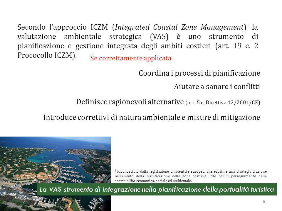 Condizioni per lefficacia della VAS a scala locale Caso Piano di Tutela dellAmbiente Marino e Costiero della Regione Liguria 19